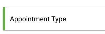 Appointment duration removed