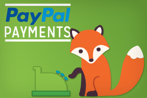 PayPal payments with Foxy using a cash regsiter