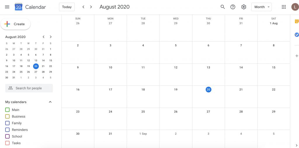 google-calendar-default-view