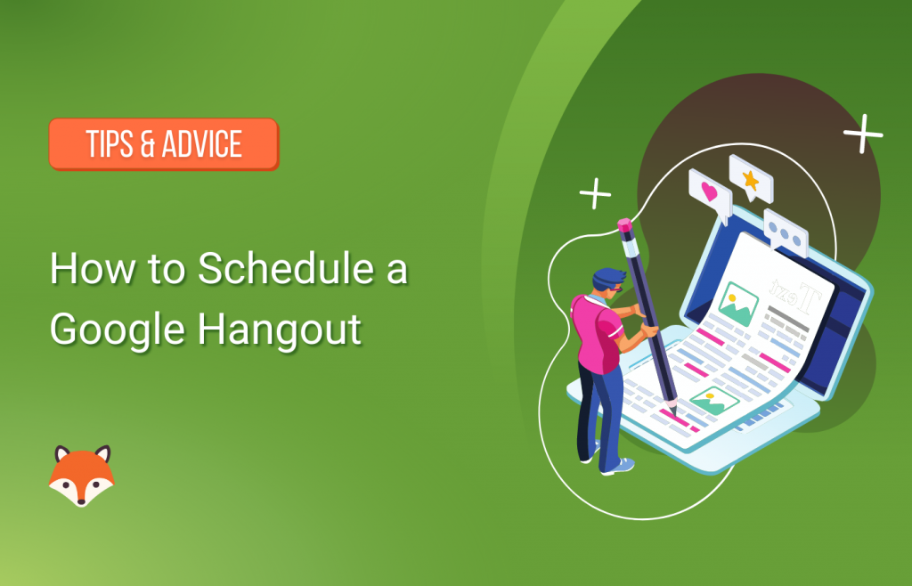How to Schedule a Google Hangout
