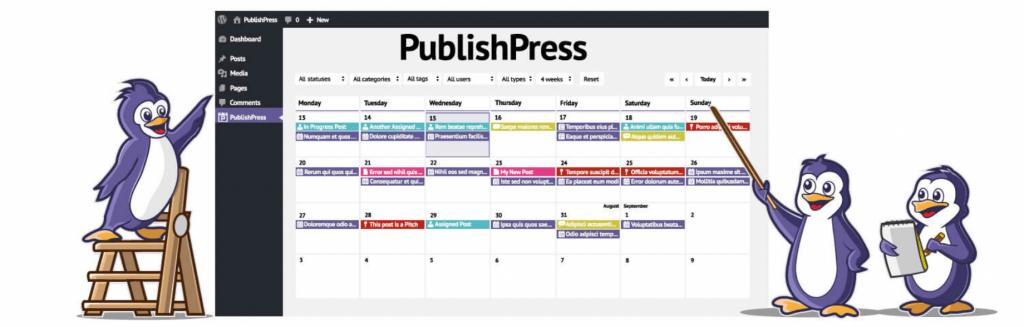 The PublishPress plugin.